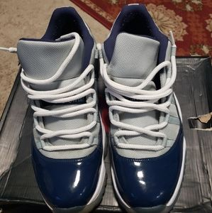 Nike Air Jordan 11 XI low Georgetown Blue 528895-0